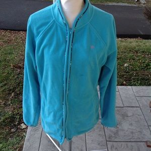Lilly Pulitzer fleece jacket.